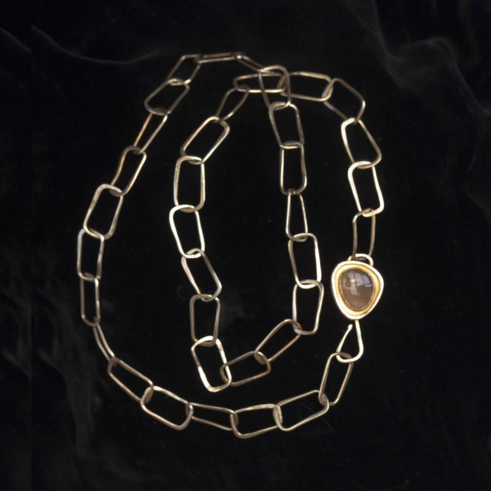 C Morgan Necklace with Moonstone