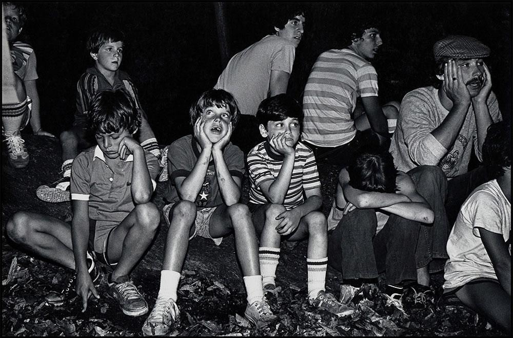 First Night Campfire, 1975 Camp Hi-Rock Series