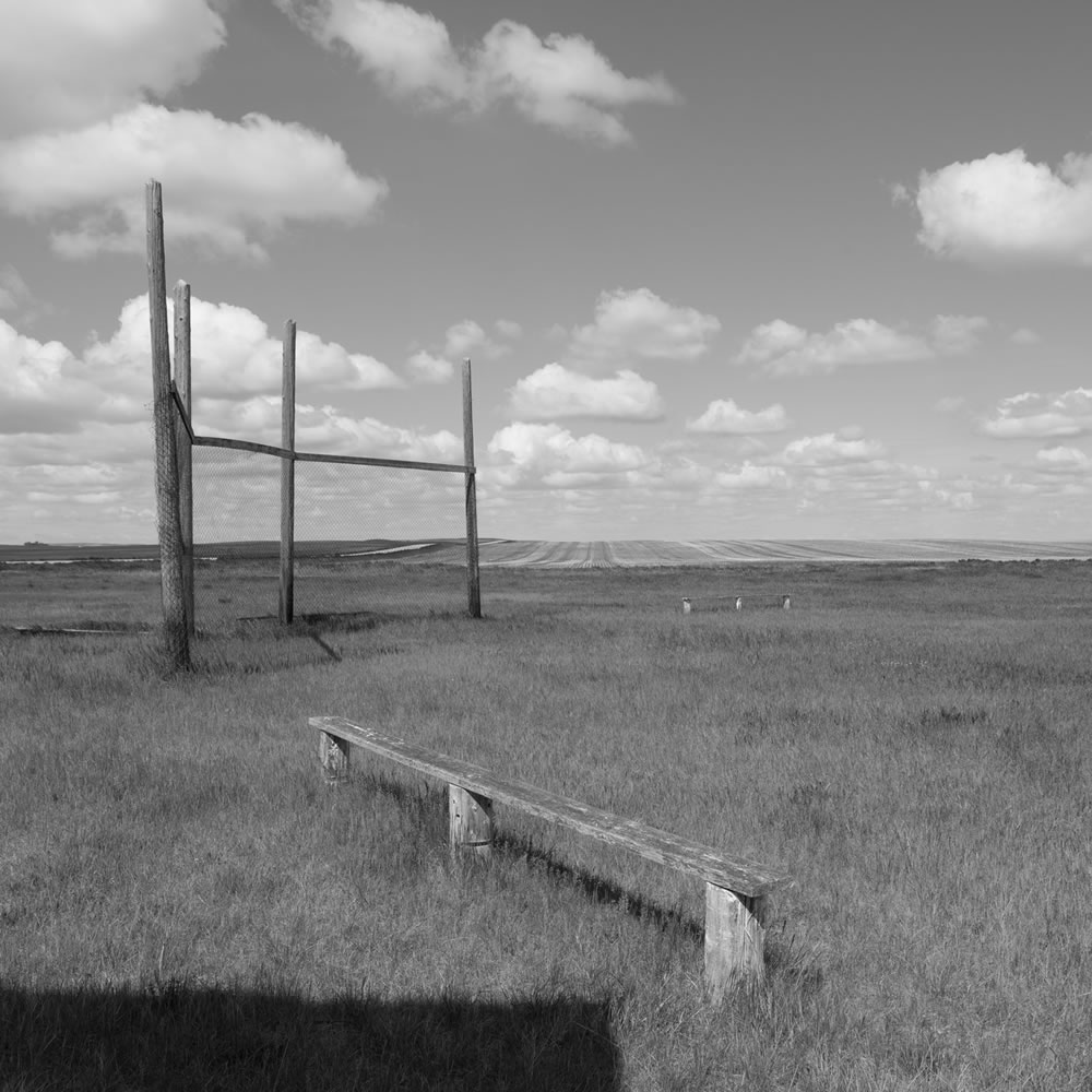 Baseball Field, Stonehenge School, Saskatchewan