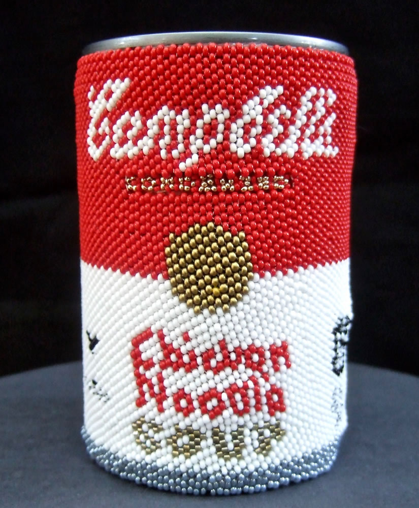 Beaded Soup Can