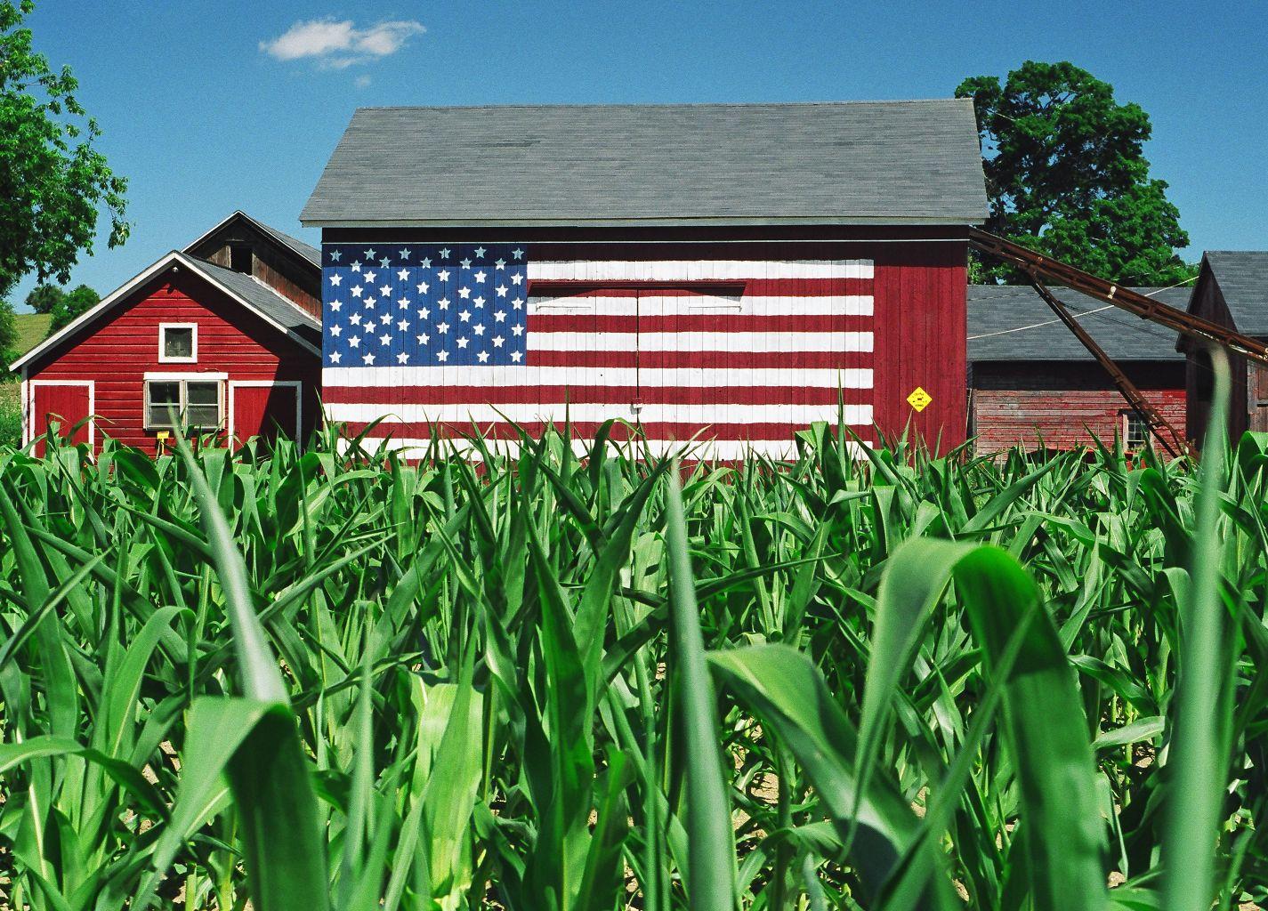 Flag Barn - Stanfordville, NY