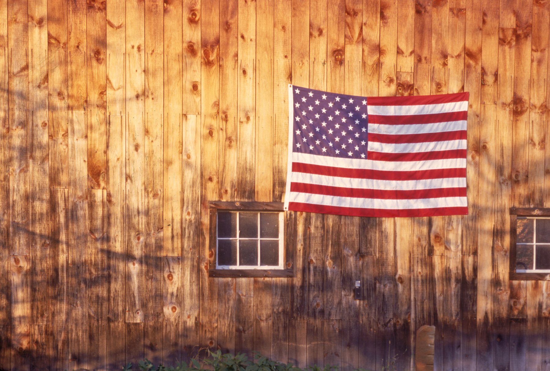 Tribute to the Fallen | Wooden Barn